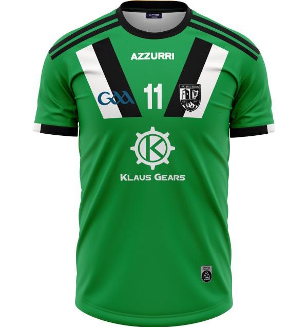 GAA Jersey JG038 Black Emerald
