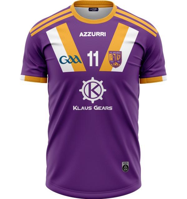 GAA Jersey JG038 Purple Gold