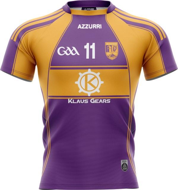 GAA Jersey JG043 Purple Gold
