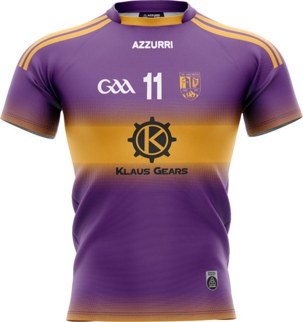 GAA Jersey JG049 Purple Gold