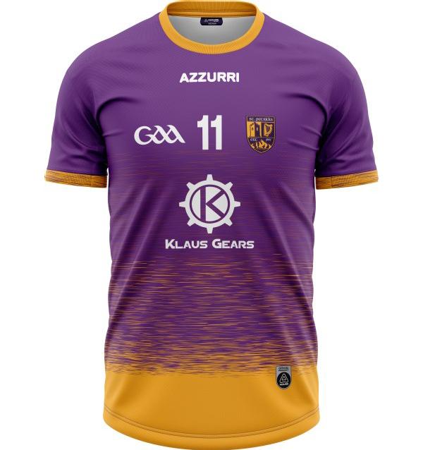 GAA Jersey JG053 Purple Gold