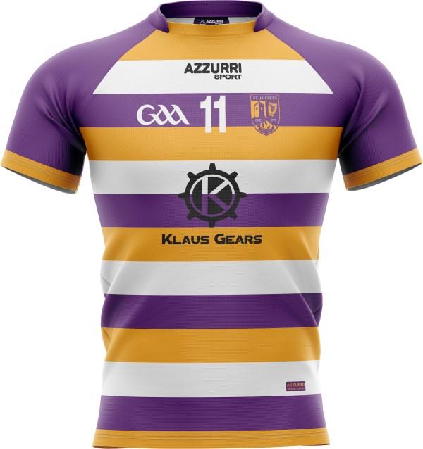 GAA Jersey JG1055 Purple Gold