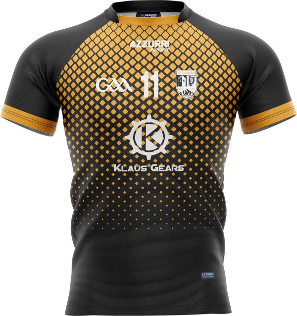 GAA Jersey JG1061 Gold Black