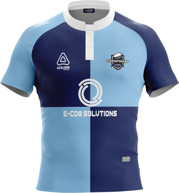Rugby Jersey RS102 Sky Navy