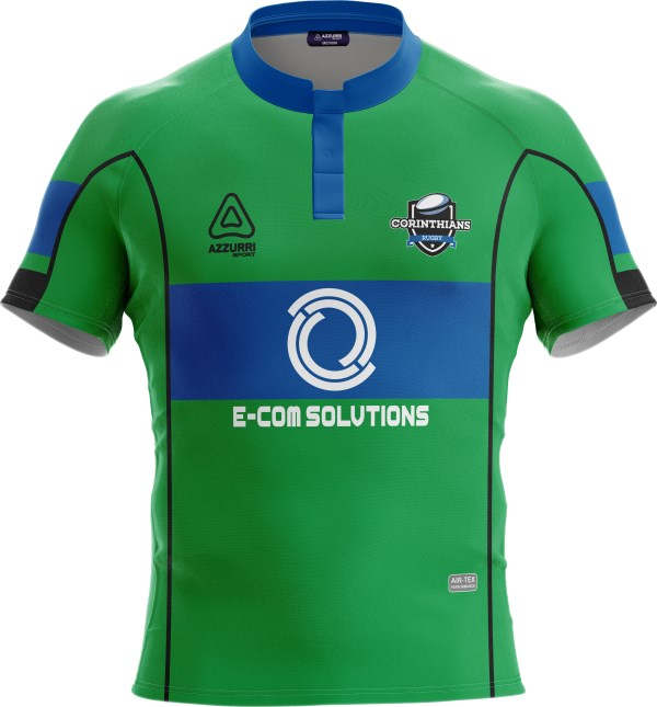Rugby Jersey RS136 Emerald Royal