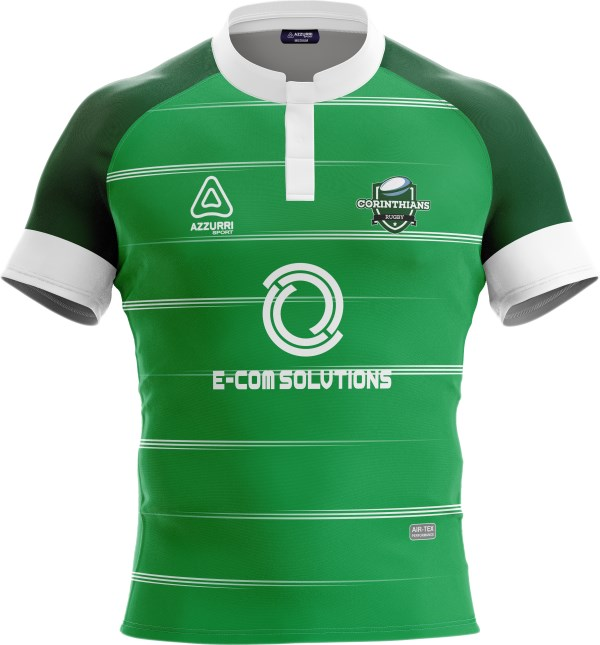 Rugby Jersey RS310 Emerald White