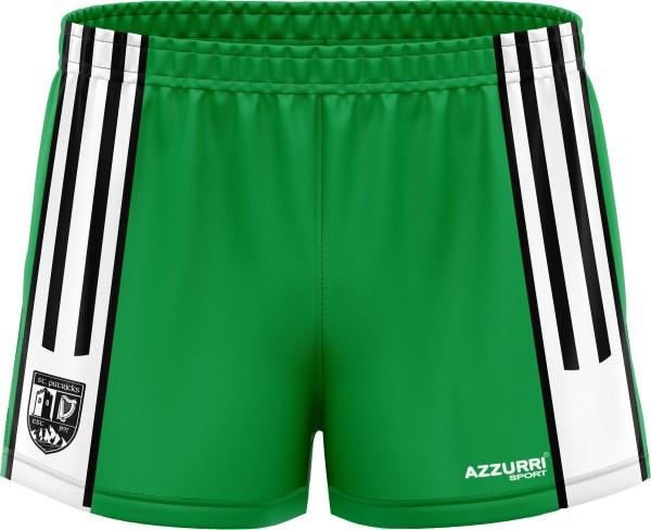 GAA Shorts SG028 Emerald White