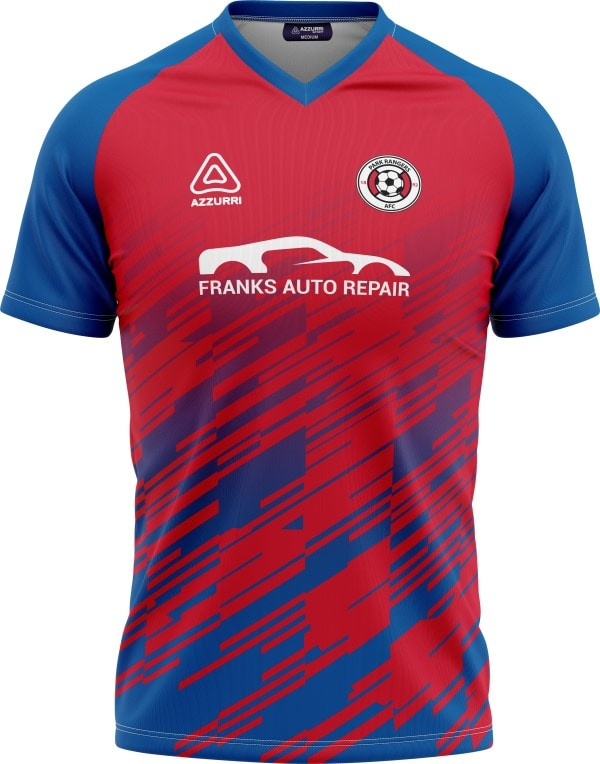 Soccer Jersey SO217 Red Royal