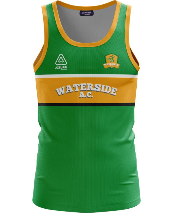 Athletics Jersey VA032 Emerald Gold