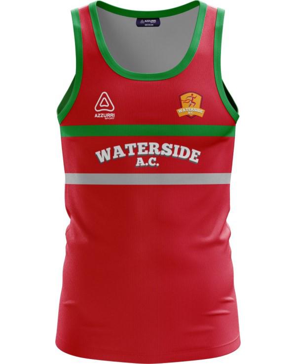 Athletics Jersey VA037 Red Emerald