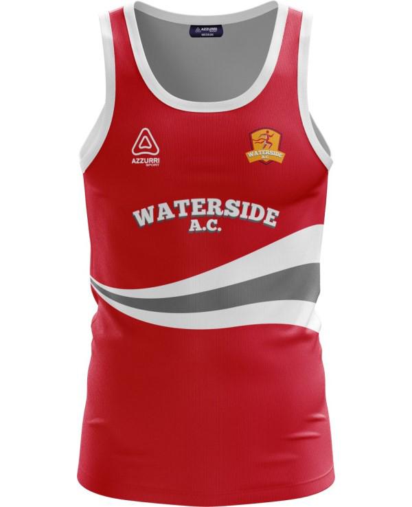 Athletics Jersey VA040 Red White