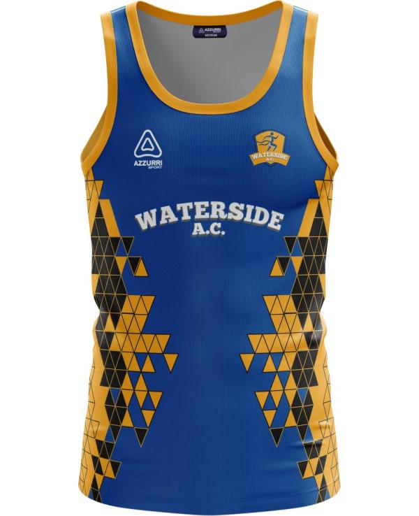 Athletics Jersey VA042 Royal Gold