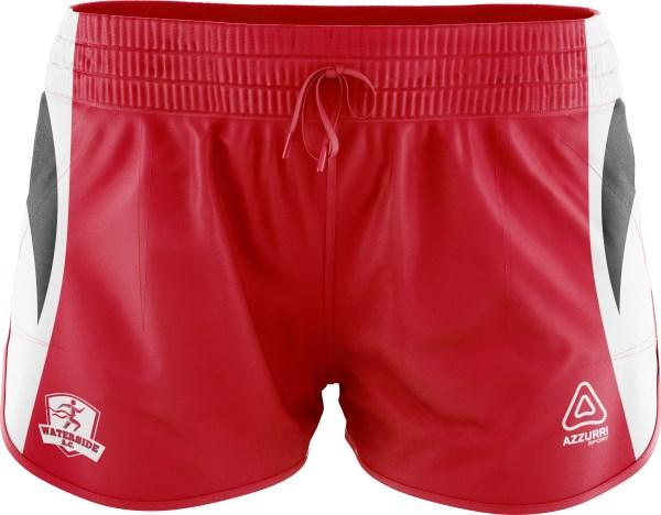 Athletic Shorts SA104 Red White