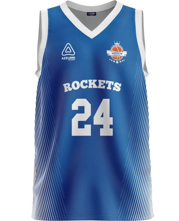 Basketball Jersey BJ040 Royal White