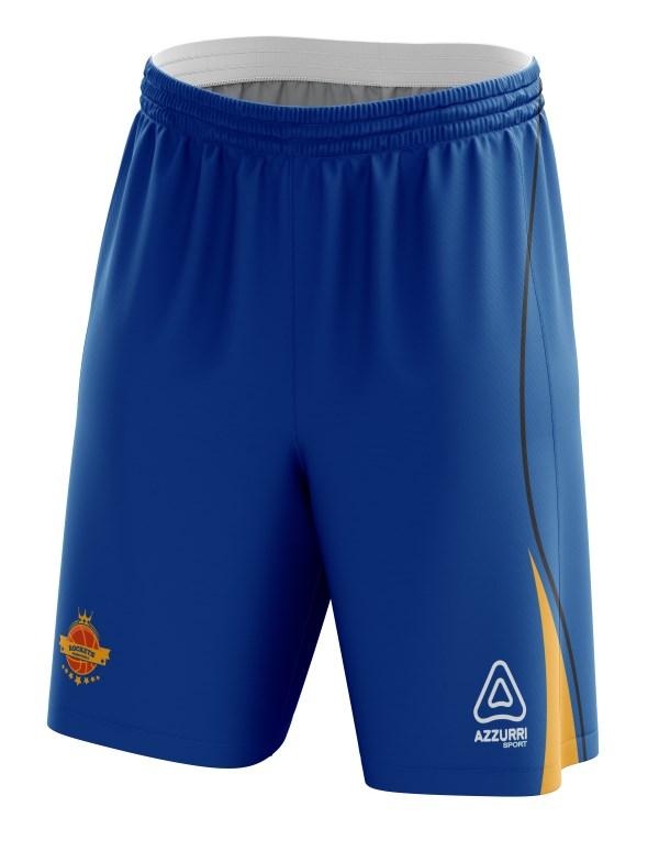 Basketball Shorts BS008 Royal Gold