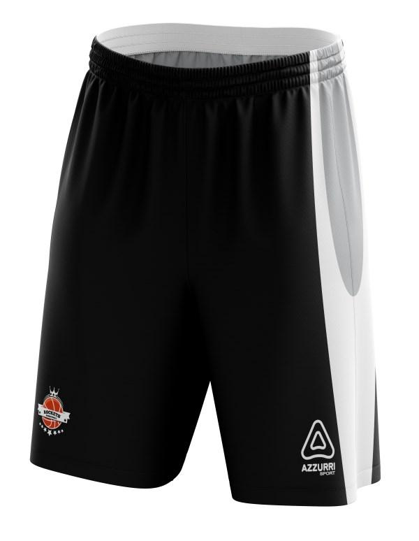 Basketball Shorts BS022 Black White