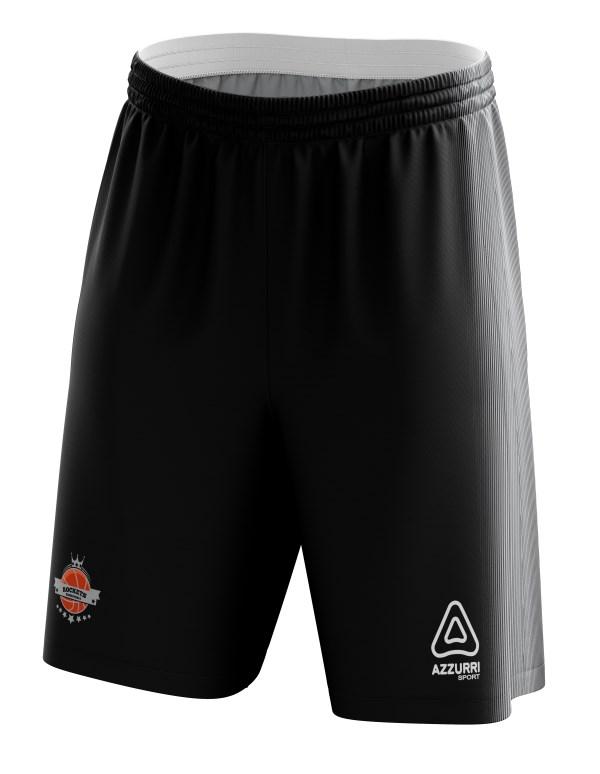 Basketball Shorts BS040 Black Grey