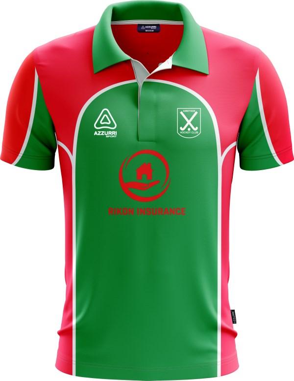 Hockeyp Jersey JH011 Red Emerald