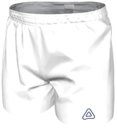 Hockey Shorts SS025 White