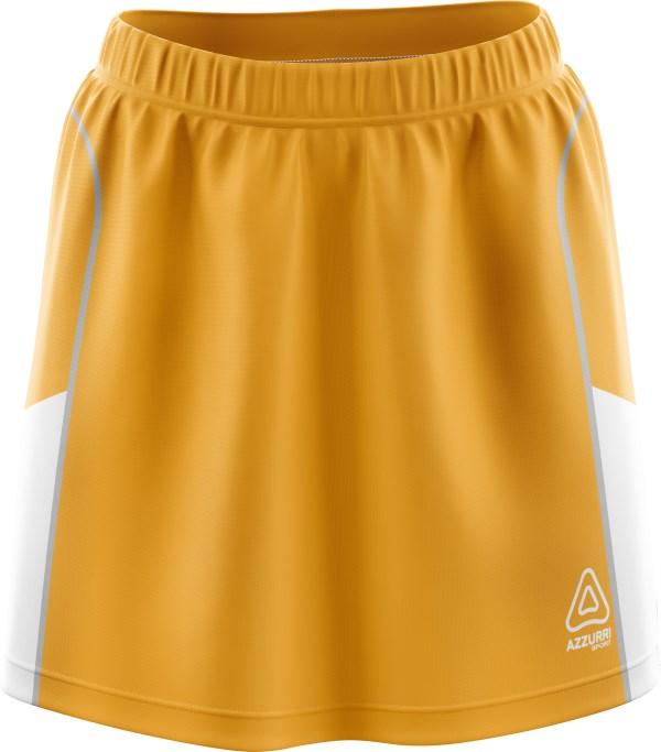Hockey Skort SK501 Gold White