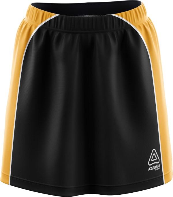 Hockey Skort SK503 Black Gold