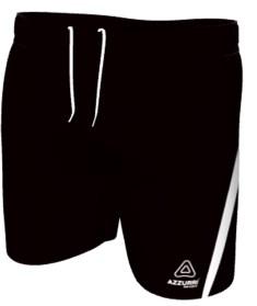 AussieRules Shorts SAR026 Black White