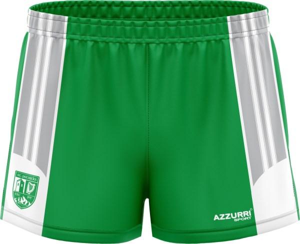 LGFA Shorts SG021 Emerald White