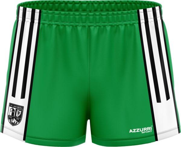LGFA Shorts SG028 Emerald White