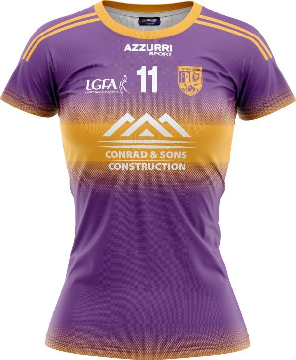 LGFA Jersey JG049 Purple Gold