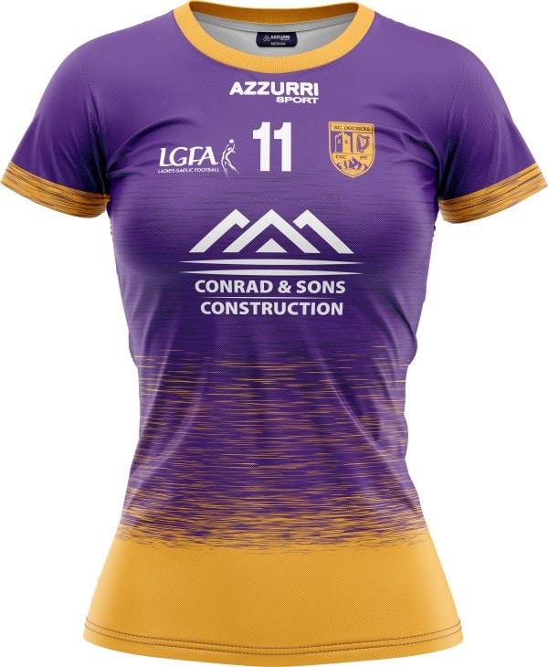 LGFA Jersey JG053 Purple Gold