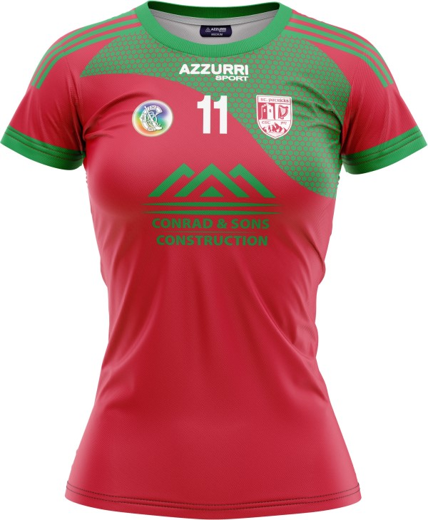 Camogie Jersey JG1005 Red Red