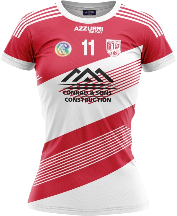 Camogie Jersey JG1075 Red White