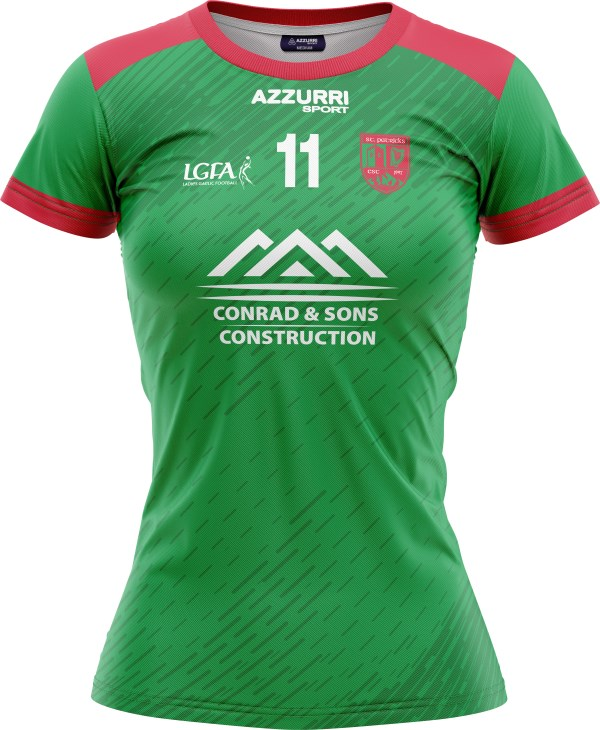Camogie Jersey JG355 Red Emerald