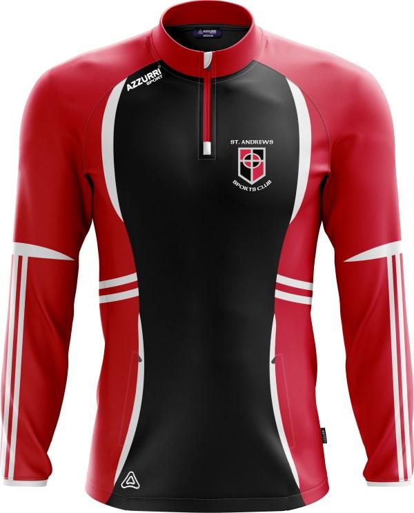 TrainingTop Swilly LT700 Black Red White