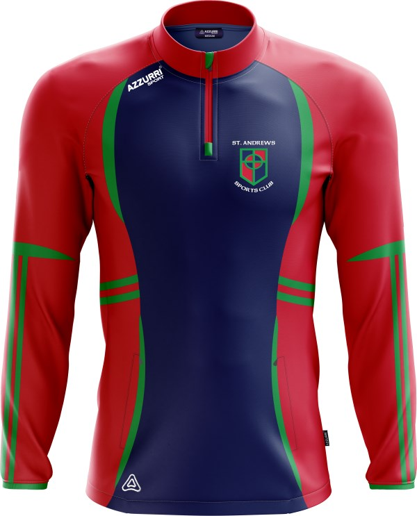 TrainingTop Swilly LT700 Navy Red Emerald