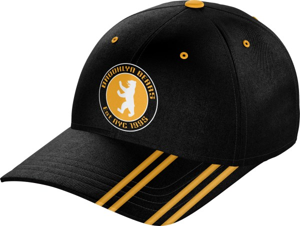 Hat BaseballCap BC010 Black Gold