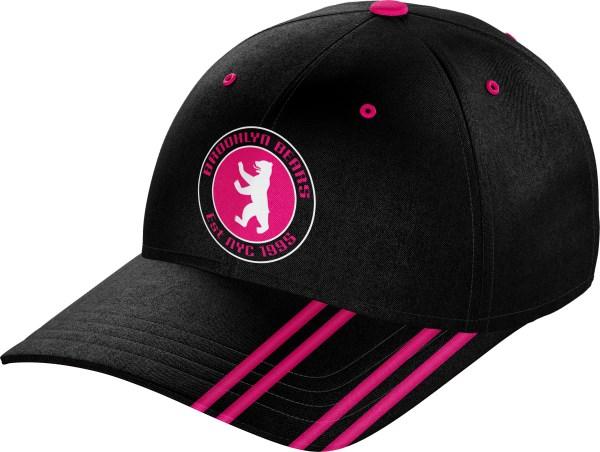 Hat BaseballCap BC010 Black Pink