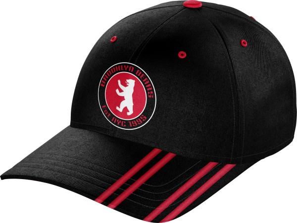 Hat BaseballCap BC010 Black Red