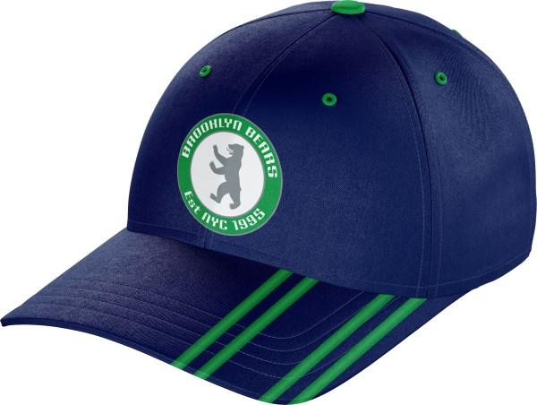 Hat BaseballCap BC010 Navy Emerald