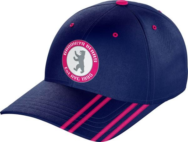Hat BaseballCap BC010 Navy Pink