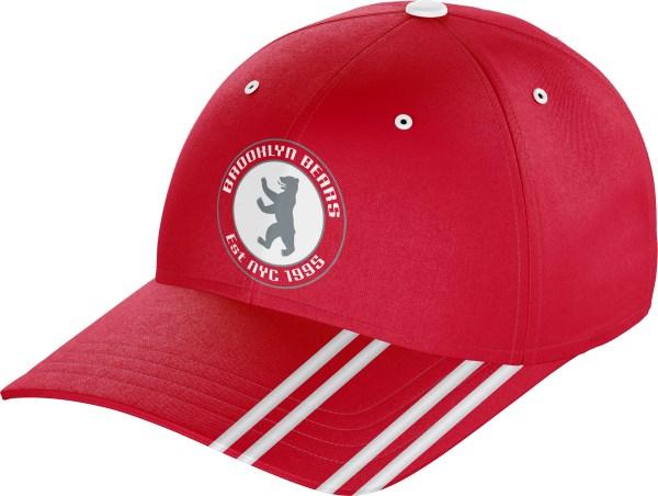 Hat BaseballCap BC010 Red White
