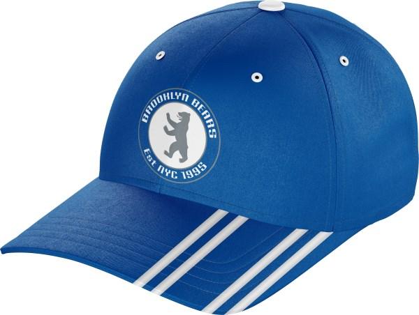 Hat BaseballCap BC010 Royal White
