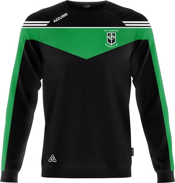 Crewneck Spartan SW717 Black Emerald
