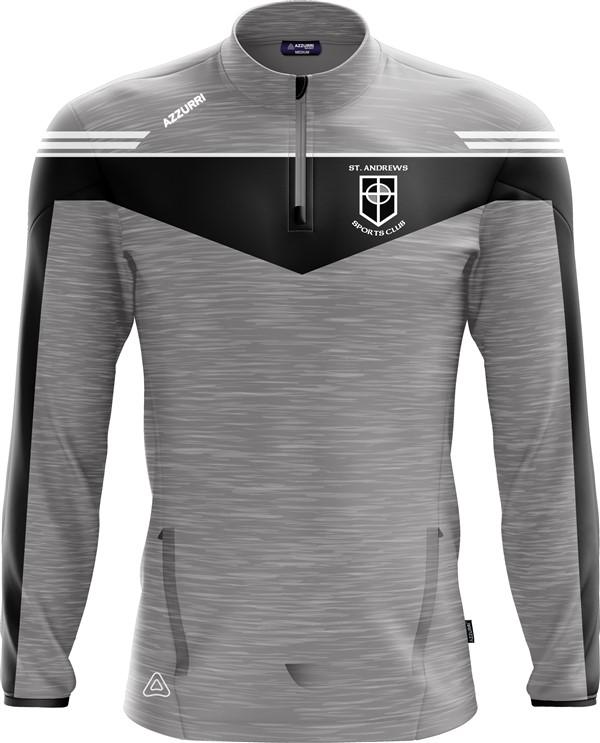 TrainingTop Spartan LT717 GreyMelange Black White