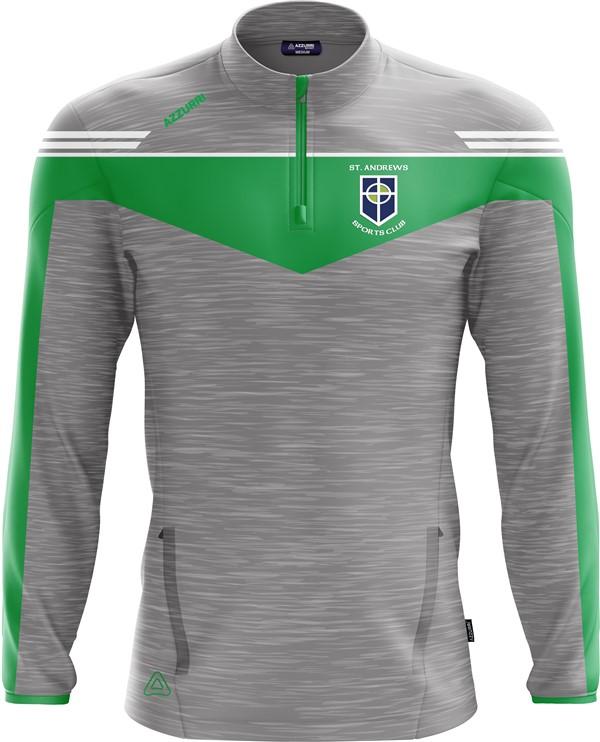 TrainingTop Spartan LT717 GreyMelange Emerald