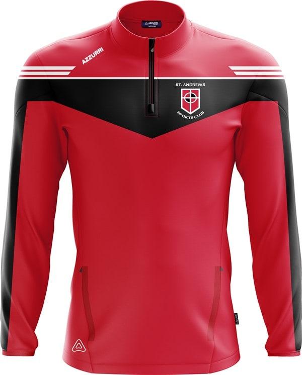 TrainingTop Spartan LT717 Red Black White